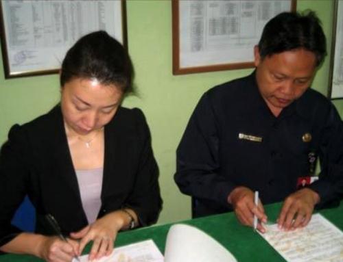 Signing Mandarin Program with SMKN 48